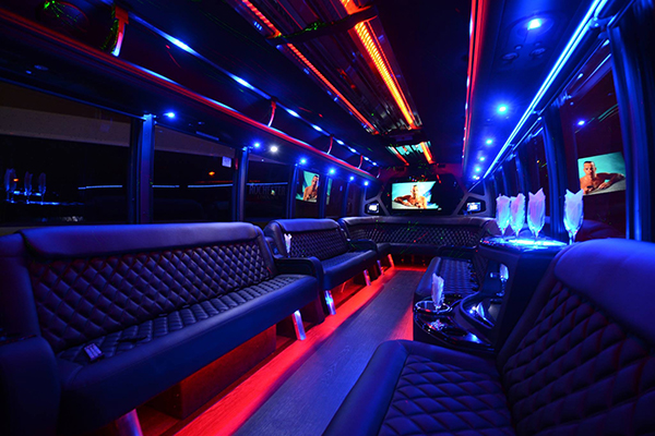 40 Person Party Bus Rental Miami Airport